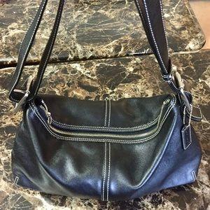 Coach Vintage Leather Legacy Hobo Shoulder Bag